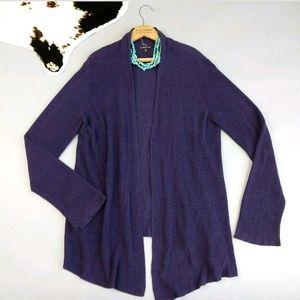 Eileen Fisher size Large silk blend Cardigan